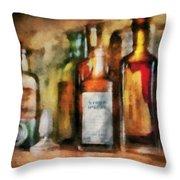 Medicine - Syrup Of Ipecac Throw Pillow