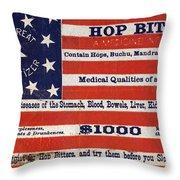Medicine: Cough Cure Throw Pillow