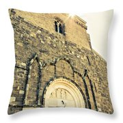 Medieval Abbey - Fossacesia - Italy 5 Throw Pillow
