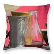 Medieval Still Life Throw Pillow