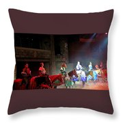 Medieval Times Dinner Theatre In Las Vegas Throw Pillow