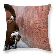 Medina Man Throw Pillow by Marion Galt