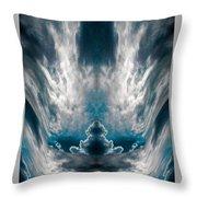 Meditating Cloud - 1 Throw Pillow
