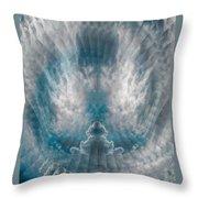 Meditating Cloud - 2 Throw Pillow