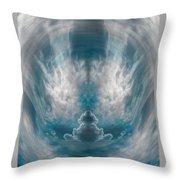 Meditating Cloud - 3 Throw Pillow