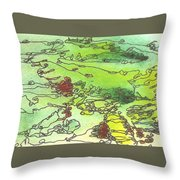 Meditations And Love Letters #15111 Throw Pillow