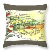 Meditations And Love Letters #15115 Throw Pillow