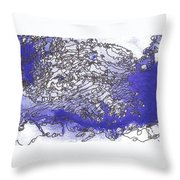 Meditations And Love Letters #15123 Throw Pillow
