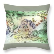 Meditations And Love Letters #15126 Throw Pillow