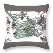 Meditations And Love Letters #15127 Throw Pillow