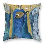 Meditations On The Holy Trinity  After The Music Of Olivier Messiaen, Throw Pillow
