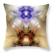 Meditative Symmetry 3 Throw Pillow