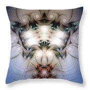 Meditative Symmetry 4 Throw Pillow