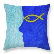Mediterranean Dream Throw Pillow