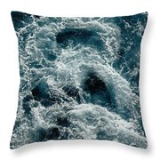 Mediterranean Sea Art 112 Throw Pillow