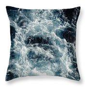 Mediterranean Sea Art 116 Throw Pillow