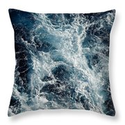 Mediterranean Sea Art 117 Throw Pillow