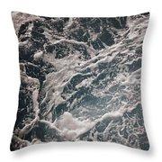 Mediterranean Sea Art 47 Throw Pillow