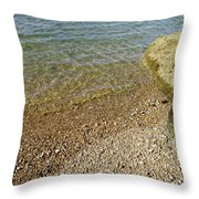 Mediterranean Seascape  Throw Pillow