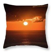 Mediterranean Sunrise Throw Pillow