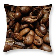 Medium Roast Throw Pillow