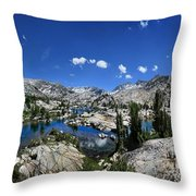 Medley Lake - Sierra Throw Pillow