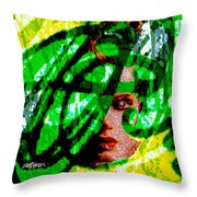 Medusa 1-26 Throw Pillow