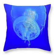 Medusa Jelly Fish Throw Pillow