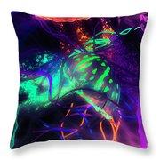 Medusarizing Throw Pillow