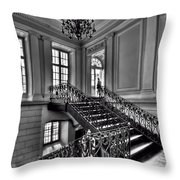 Meet Me Half Way Throw Pillow