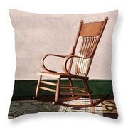 Meet Me In The Morning Throw Pillow