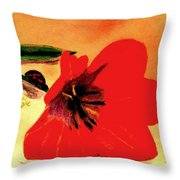 Meet Me In The Tulips Throw Pillow