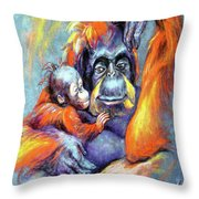 Meet My Son Throw Pillow