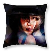 meet Stella Sue Throw Pillow
