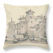 Meeting At The Docks Classics 2 Throw Pillow