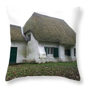 Meeting House Throw Pillow