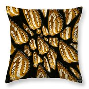 Meeting Of The Butterfly  Throw Pillow