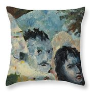 Mefisto Has Smiled Throw Pillow