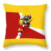 Mega Man X Throw Pillow