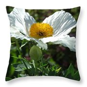 Mega-poppy Throw Pillow