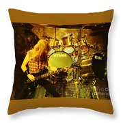 Megadeath 93-david-0364 Throw Pillow