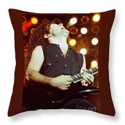 Megadeath 93-marty-0379 Throw Pillow