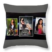 Megan Fox Throw Pillow