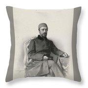 Mehmed Emin Throw Pillow