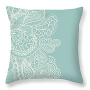 Mehndi Throw Pillow