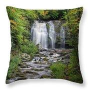 Meig Falls 7 Throw Pillow