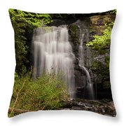 Meigs Falls Two Throw Pillow