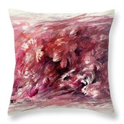 Melancholic Moment Throw Pillow