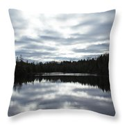 Melancholy Reflections Throw Pillow