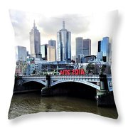 Melbourne 2014 Aids Conference Throw Pillow